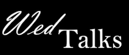 WedTalks - Logo signature - white